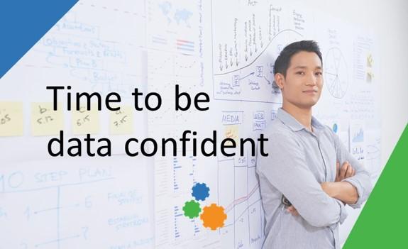 Data confident person