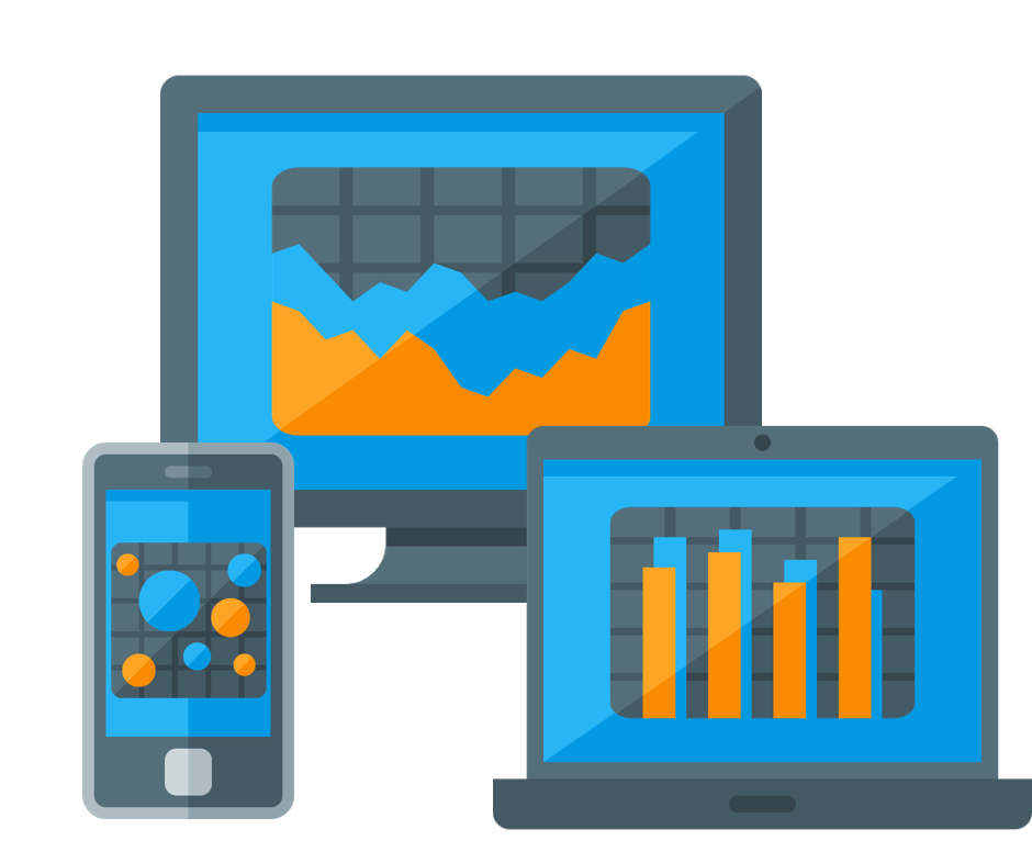 Data visualisations on different devices