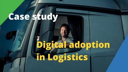 Digital adoption Logistics