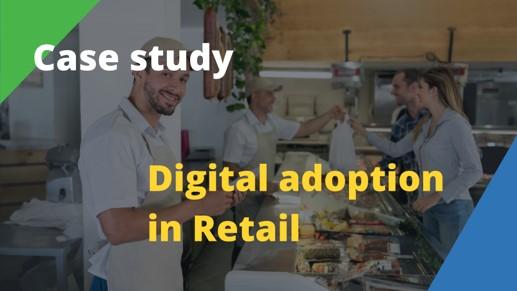 Digital adoption retail