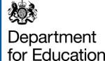 Dept for Education logo
